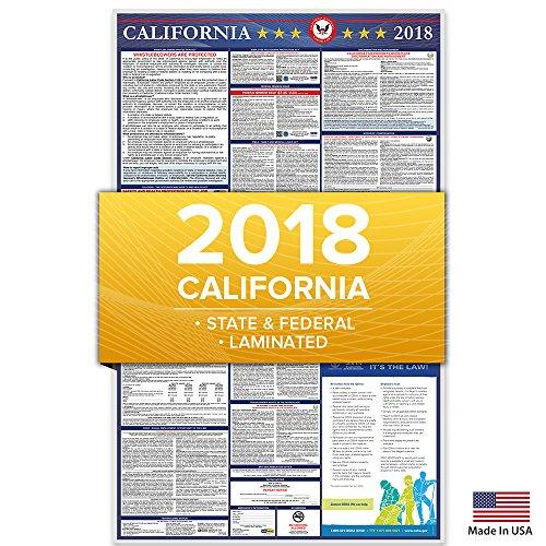 labor law posters california 2018