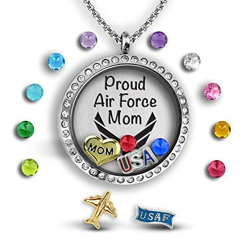 Air Force Mom Necklace