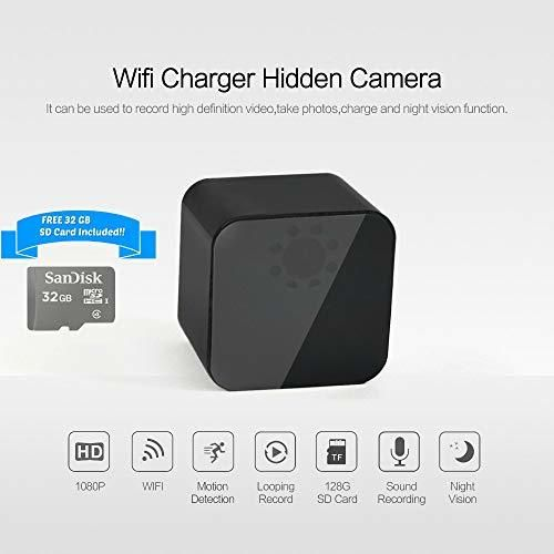 Spy Camera Wall Charger