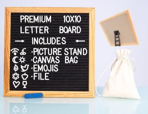 Changeable Felt Letter Board