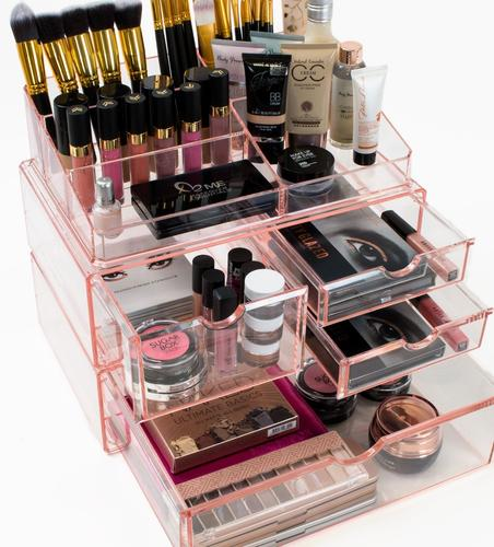 Cosmetics Makeup And Jewelry Storage Case