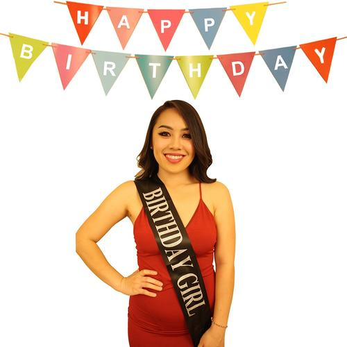 Birthday Sash For Women