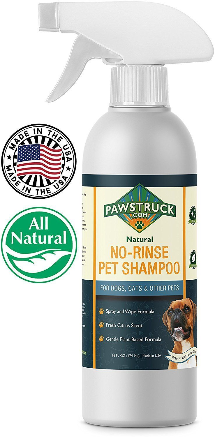 Waterless Shampoo For Dogs