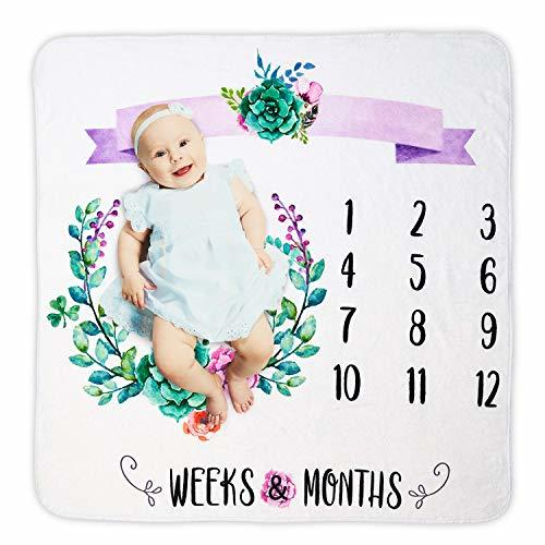 Baby Monthly Blanket