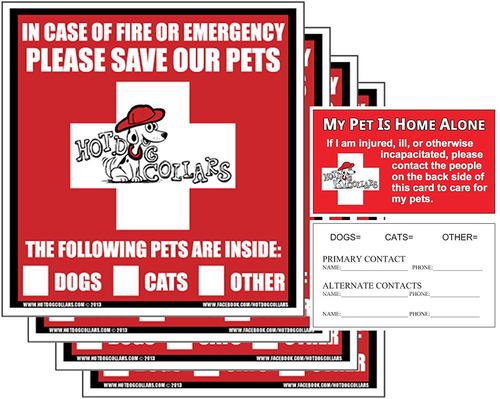 Pet Emergency Stickers