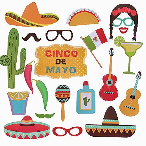 Mexican Themed Photo Booth Props